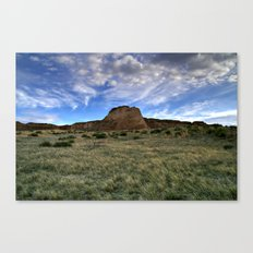 Pawnee Buttes Evening Sky Canvas Print