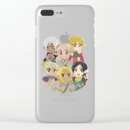 Dragon Age Elves Clear iPhone Case