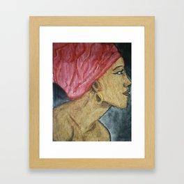 Black Queen Framed Art Print