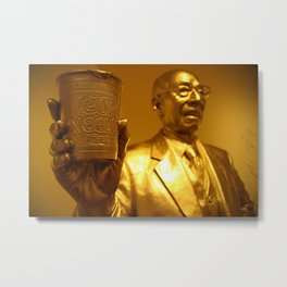 Golden CUPNOODLES Metal Print