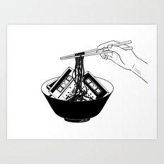 Enjoy Your Meal Art Print