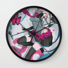 Hatsune Miku Vocaloid Wall Clock