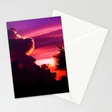 Blazing Sunset Stationery Cards