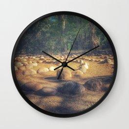 Circle in nature Wall Clock