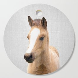 Baby Horse - Colorful Cutting Board