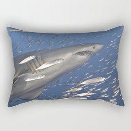 Follow The Big Guy Rectangular Pillow