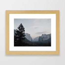Tunnel View Yosemite Framed Art Print