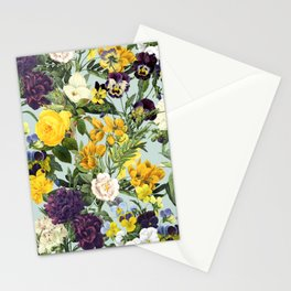Floral C Stationery Cards