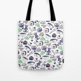Galaxy Sushi Tote Bag