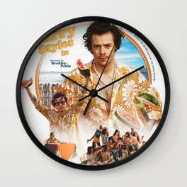 Harry Style Poster Styles Album Cover Art Wall Clock