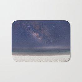 The Milky Way On Bali Beach Bath Mat