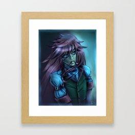 Grell Color Challenge #69 Framed Art Print