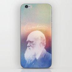 Heart Of Stone. Darwin. 1809-1882. iPhone & iPod Skin