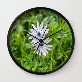 Sicilian Mountain Village - Springtime Wall Clock