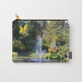 Fountain at VanDusen Botanical Garden Carry-All Pouch