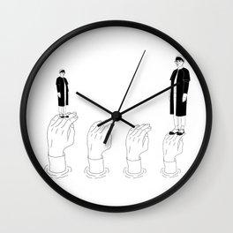 Self-illusion Wall Clock