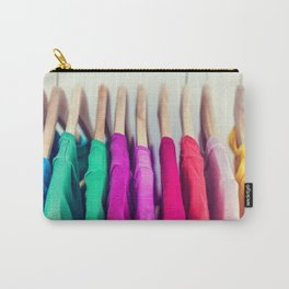 Closet colorful clothes t-shirts clothing Carry-All Pouch