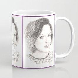 elisabeth moss...  peggy olson & more. Coffee Mug