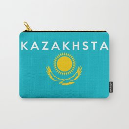 flag of Kazakhstan Carry-All Pouch
