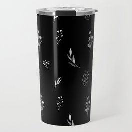Little botanics black Travel Mug
