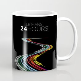 Racing Lines - Le Mans 24 Hours Coffee Mug