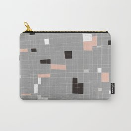 Square abstract Carry-All Pouch