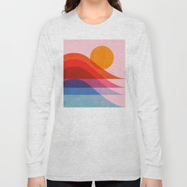 Abstraction_Surfing_New_WAVE_001 Long Sleeve T-shirt