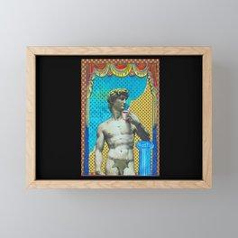 Michelangelo at Home Framed Mini Art Print
