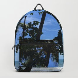 Queensland Australia beach Backpack