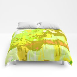 Pick A Posie Color Slapped Comforters