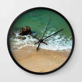 Rock in the Atlantic Ocean Wall Clock