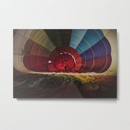 Enter the Rainbow Metal Print