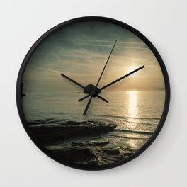 Hope on the Horizon Wall Clock