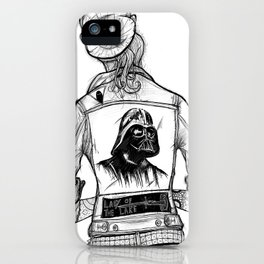 Roth-Vader City Rockers iPhone Case