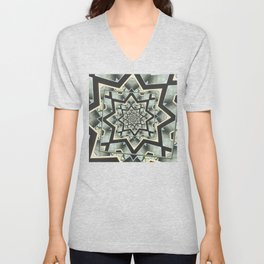 Angles Around And Again Unisex V-Neck