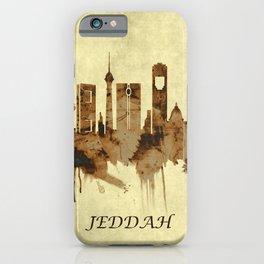Jeddah Saudi Arabia Cityscape iPhone Case