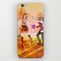 shopping iPhone & iPod Skins featuring Shopping by hazukei