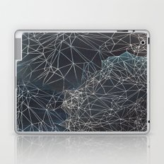 Star Structures in Blue Laptop & iPad Skin