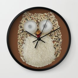 Specs, The Grainy Owl! Wall Clock