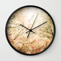 skyfall Wall Clocks featuring Skyfall by Jenndalyn