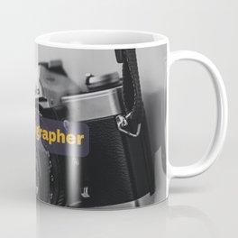 Hashtag Photographer Design Coffee Mug