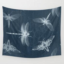 X-RAY Insect Magic Wall Tapestry