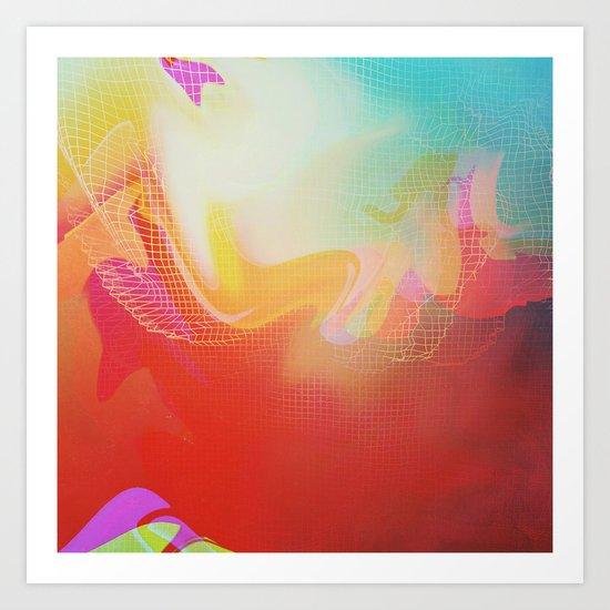 Glitch 30 Art Print