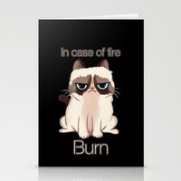 grumpy Stationery Cards featuring Grumpy  by Blaze-chan