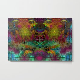 Extraterestrial Palace 5 Metal Print