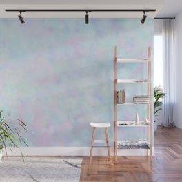 Rainbow Unicorn Pastel Fluffiness Wall Mural