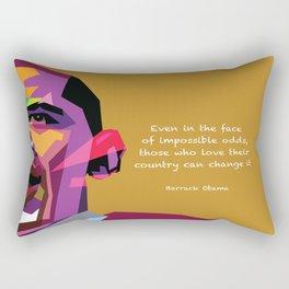 Impossible Odds Rectangular Pillow