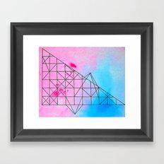 Geometric 536 Framed Art Print