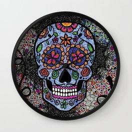 Crazy Skull  Wall Clock