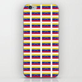 Flag of Venezuela-Venezuela,venezuelan,Venezolano,caracas,maracaibo. iPhone Skin